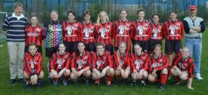 Dames1 2001-2002