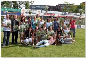 Dames 1 kampioen 2011