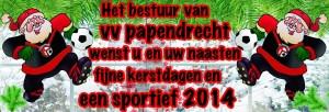 Kerstkaart VVP 2013