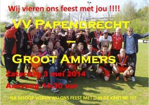Papendrecht kampioen 2014