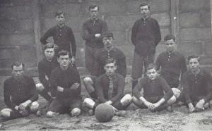 Voetbalelftal 1920
