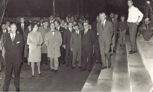 Opening Staantribune 1967 foto Fam.Stam