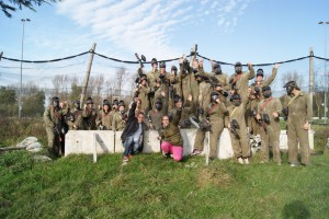 Dames paintballen 02-11-2014 M