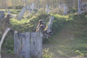 Dames paintballen 02-11-2014 W