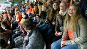 VVP-vrouwen bij Oranje - Schotland E