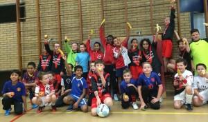 Zaalvoetbal jeugd 01-02-2015 Vullen of Voeden