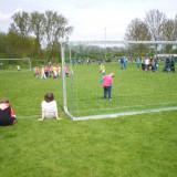 Schoolvoetbal op 25 april