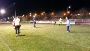 G-voetbal eerste training 23-03-2016 B