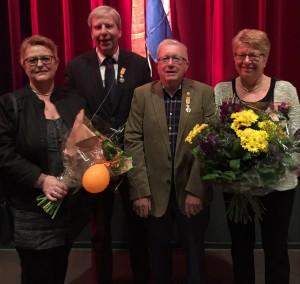 Blom Vermeulen onderscheiden 26-04-2016