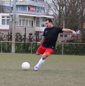 G-voetballer Edison Groen 28-03-2016
