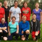 Vrijdagavondtraining voetbalmoeders en andere dames